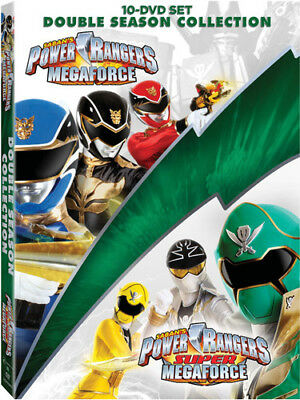 Power Rangers Megaforce And Super Megaforce Collection [New DVD] Oversize Item