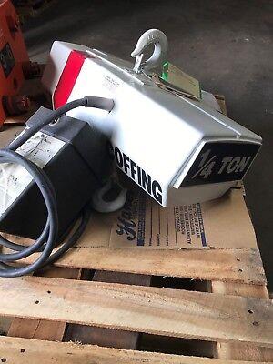 Coffing Electric Hoist - 14 Ton 16 Fpm 3230v 10 Lift Rebuilt Ec0516-3rb
