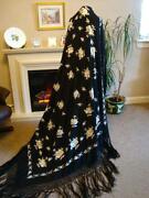 Antique Silk Shawl