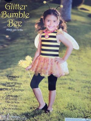 Toddler Girls Size 2T   * GLITTER BUMBLE BEE *   Costume NWT Honey Bee Tutu (Bumble Bee Tutu)