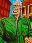 Celebrities Green Art Paintings