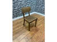 Heavy Duty Contract Quality Solid Wood Cafe Bar Bistro Side Chair