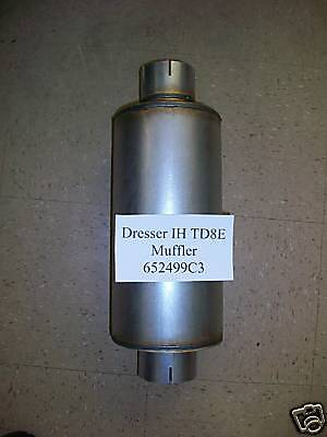 International Dresser Ih Td8e Td7e 125e Crawler Dozer Loader 652499c3 Muffler