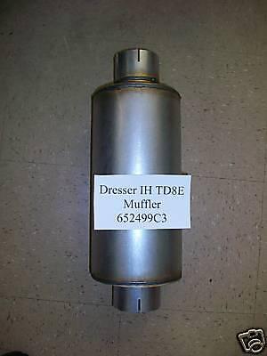 International Dresser Ih Td8e Td7e 125e Crawler Dozer Loader 652499c3 Muffler