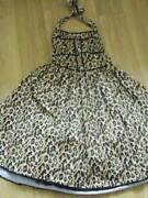 Leopard Print Rockabilly Dress