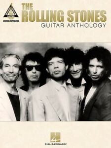 Rolling Stones-Guitar Anthology-Transcriptions & tab +  guitar