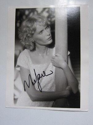 Mia Farrow    8X10 Photo Autographed