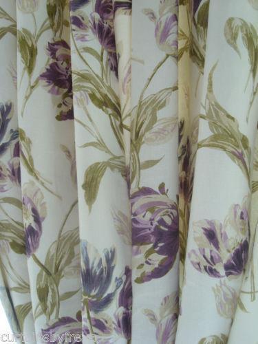 Laura Ashley Interlined Curtains Ebay