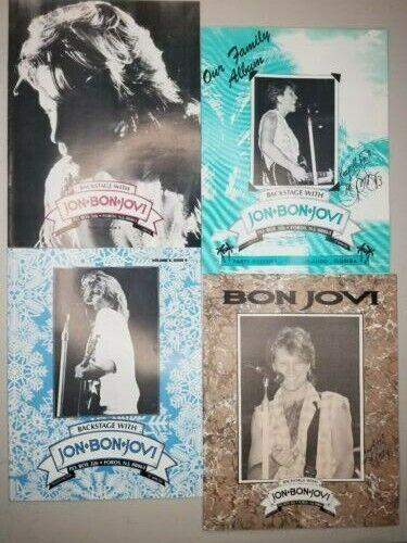 Jon Bon Jovi Backstage Vol 5 Issues 2-4 Official Fan Club Magazine 1993
