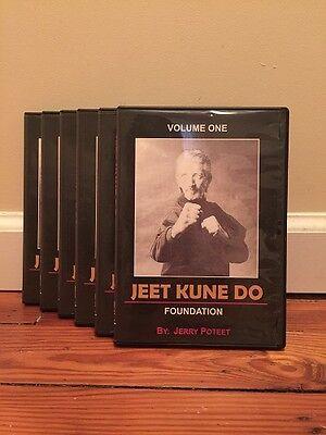 Jeet Kune Do & JKD Advanced (8) DVD Set