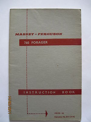 Other Original Manual Ferguson Forager Instruction Book ............................