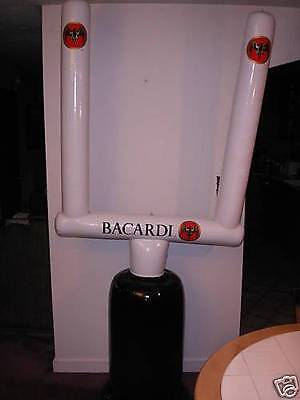 Inflatable Goal Post Bacardi Football Game NFL Super Bowl PARTY PATRIOTS Falcons