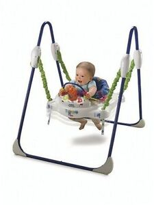 Jumperoo - Legs fold in- Musical, Heights,Washable Padding