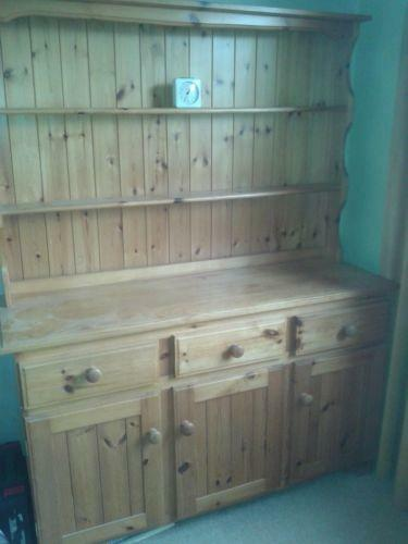 Pine Welsh Dresser Furniture Ebay