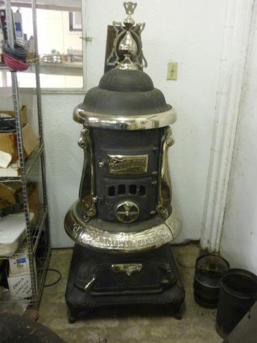 Antique wood burning stove ebay - Antique wood burning stove ...