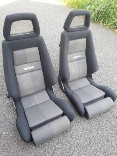 used recaro seats ebay. Black Bedroom Furniture Sets. Home Design Ideas