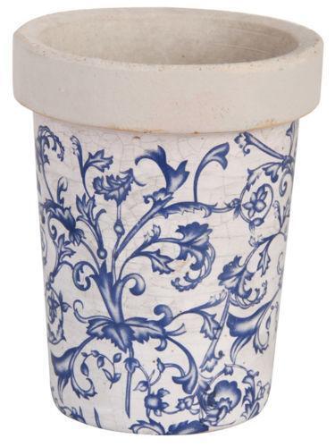 Blue Ceramic Plant Pots Ebay