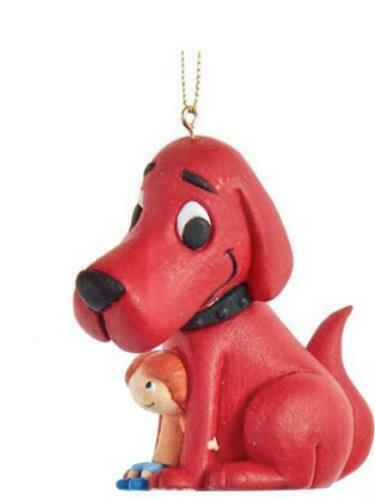 CLIFFORD THE BIG RED DOG CHRISTMAS ORNAMENT #2 NEW WITH TAGS