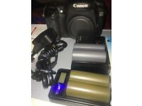 Canon EOS 20D 8.2MP Digital SLR Camera - Black (Body With Extras, 4GB CF Card )