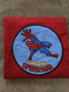 POTTERY BARN SPIDERMAN STANDARD pillow SHAM - $25