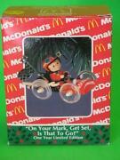 McDonalds Ornament