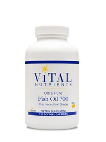 Vital Nutrients Ultra Pure Fish Oil 700 120 Gels