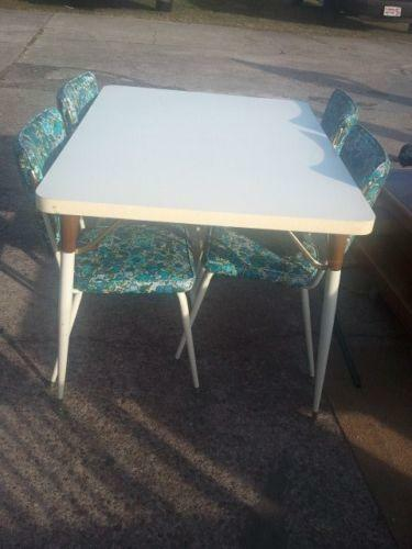 Retro Dining Set Ebay