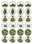 Army Cake Toppers
