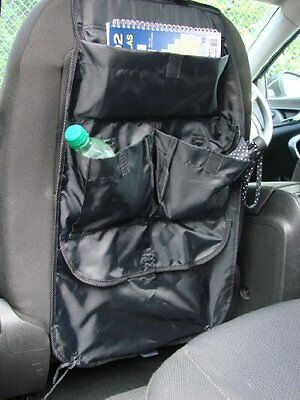 Interior Car Back Seat Multi Pocket Tidy Organiser Storage & Protector -