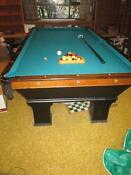 Antique Pool Billiards