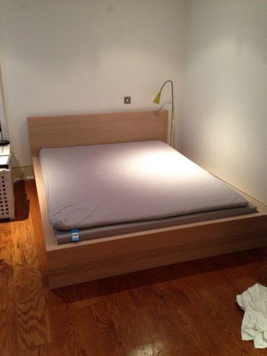 Ikea Malm Bed Frame Ebay