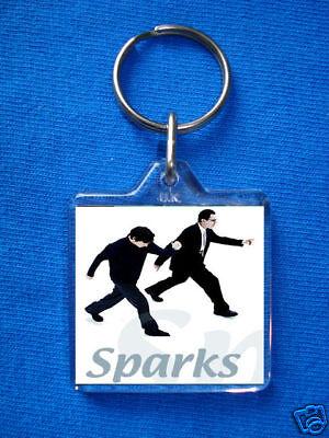 Sparks- Keyring Russ Mael Ron Mael Morrissey