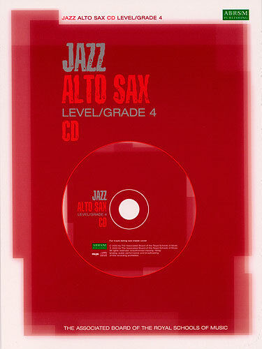 Jazz Alto Saxophone Sax Level Grade 4 CD AB Music Book