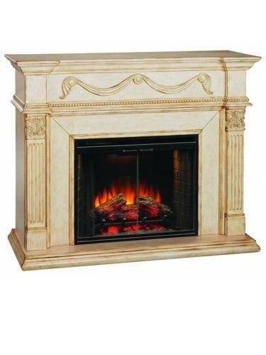 ivory electric fireplace ebay antique white electric fireplace tv stand antique looking electric fireplaces