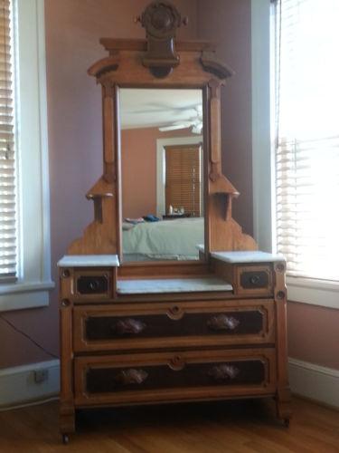 Marble Top Dresser Ebay