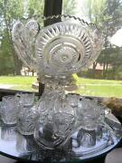 Depression Glass Punch Bowl