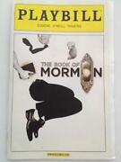 Book of Mormon Playbill