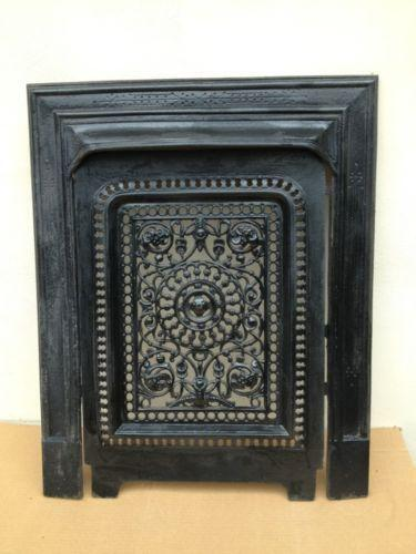 Antique Fireplace Screen Ebay
