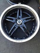 Used Black Wheels