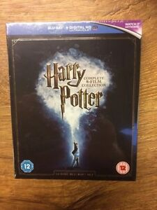 BLU-RAY! HARRY POTTER BOX SET 8 MOVIES 16 DISCS