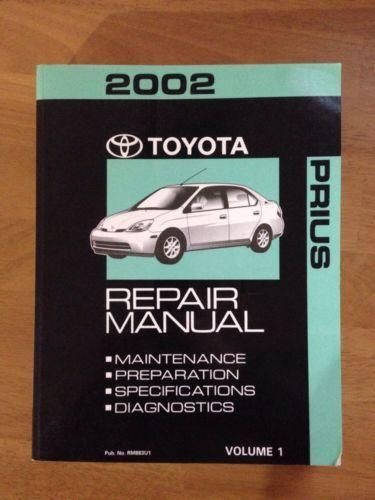 Toyota Prius Repair Manual
