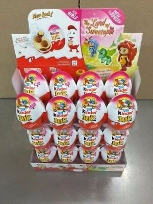 Girls With Toys (Kinder Eggs Joy with Surprise Toy & Chocolate (36 GIRLS) FREE)