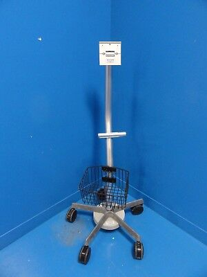 GCX Polymount PATIENT MONITOR MOBILE STAND W/ Basket ~ 14185