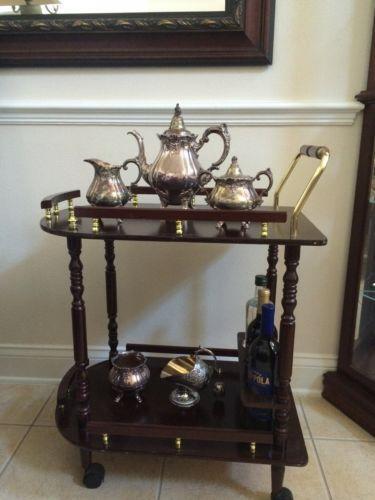 Rolling Tea Cart Ebay