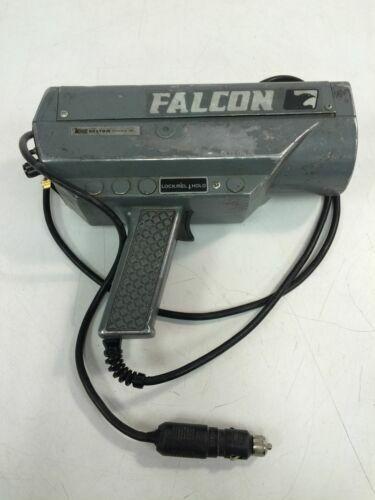 Kustom Signals Falcon Police Gun Traffic Radar Gun With Car Charger