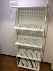 IKEA MULIG White Shelving Unit - Like new