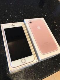 Apple iPhone 7 - 32GB - Rose Gold (EE) Smartphone