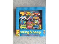 ALEX Little Hands String and Beep Threading Toy NEW