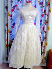 Unbranded Tea-Length Ball Gown Wedding Dresses