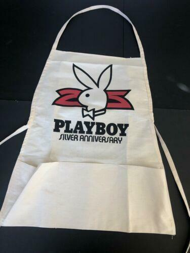 Vintage Playboy Club Member APRON Bunny Logo BBQ Cook Team Chef Kitchen